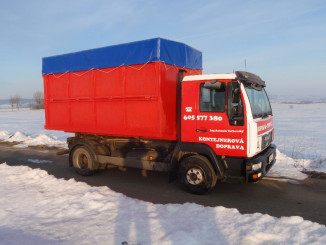 Kontejnerová doprava je užitečným pomocníkem přistavbáchi rekonstrukcích