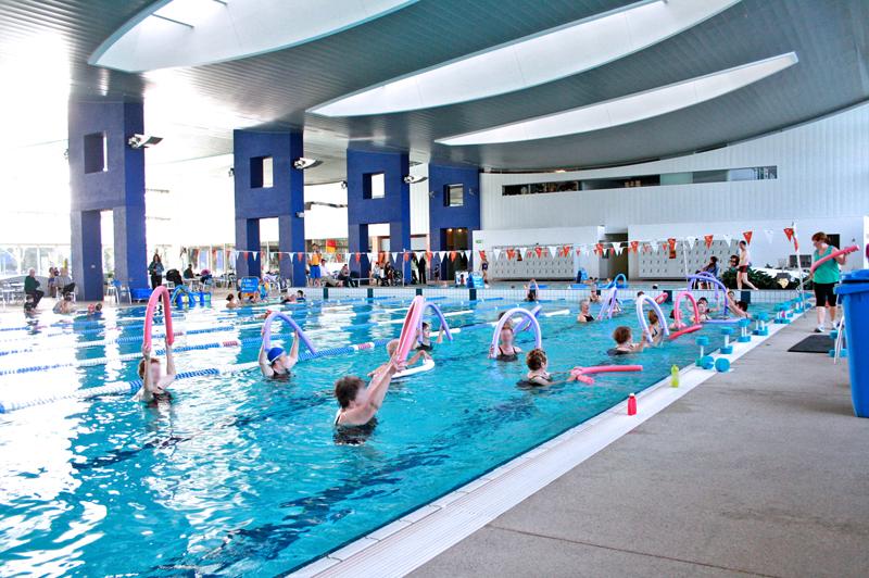 Hubneme ve vodě s aqua aerobikem!